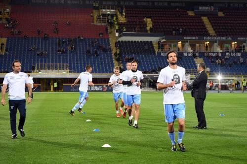 Lazio a Bologna con la maglia di Anna Frank 8