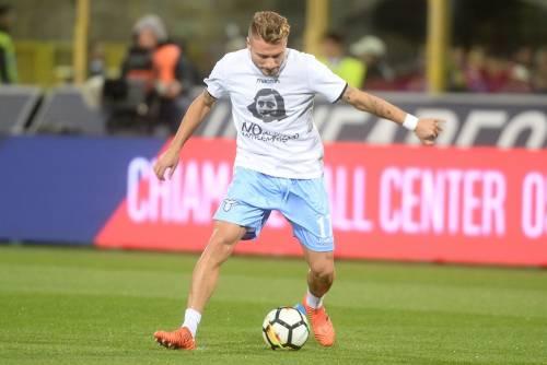 Lazio a Bologna con la maglia di Anna Frank 13
