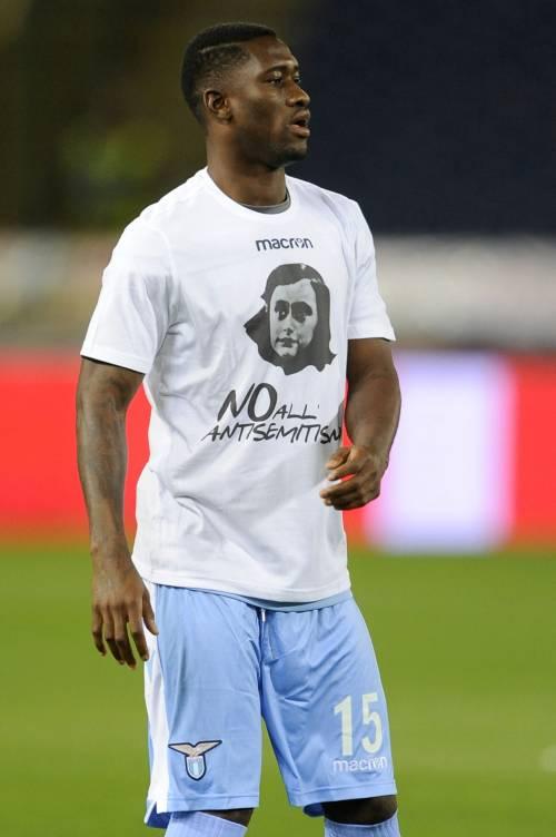 Lazio a Bologna con la maglia di Anna Frank 16