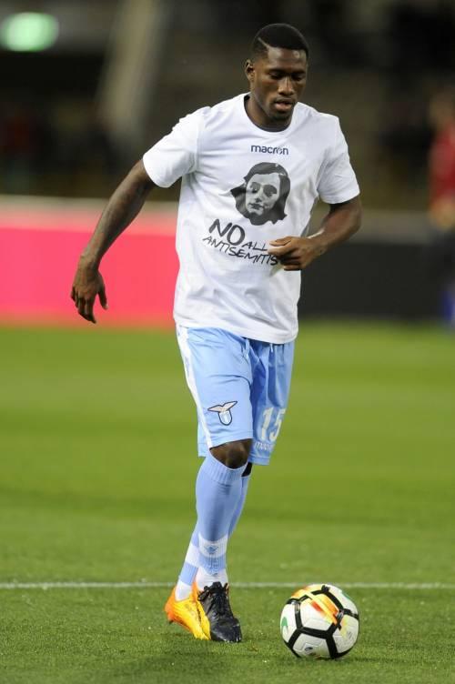 Lazio a Bologna con la maglia di Anna Frank 19