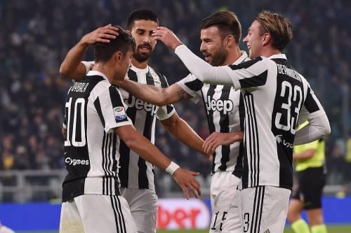 La Juventus gioca a poker con la Spal: 4-1 e -3 dal primo posto