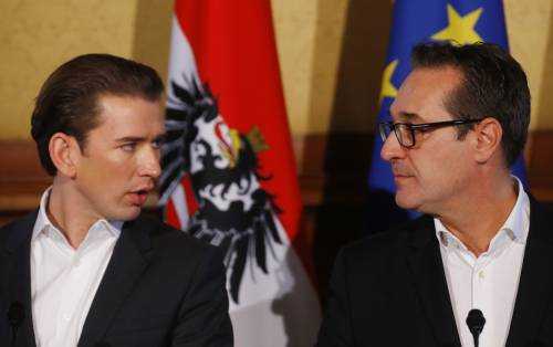 Austria, il governo vira a destra