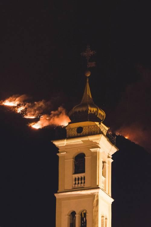 Incendi in Val di Susa 1