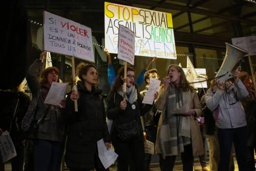 """Polanski contestato dalle Femen: """"Nessun onore per lo stupratore"""""""