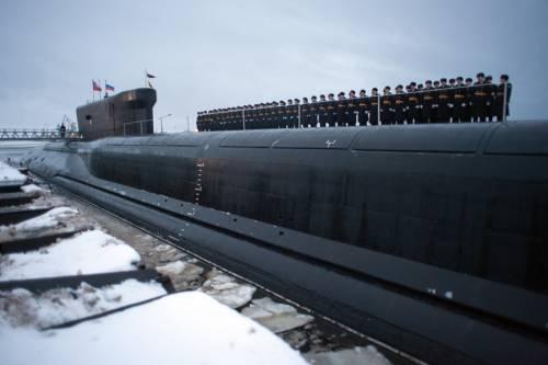 Russia, lavori conclusi sul primo sottomarino strategico classe Borei II