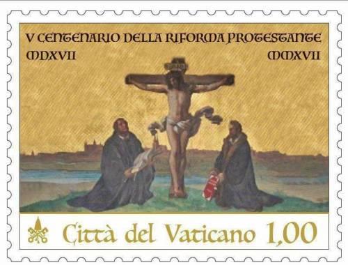 Vaticano celebra Lutero con un francobollo: è polemica