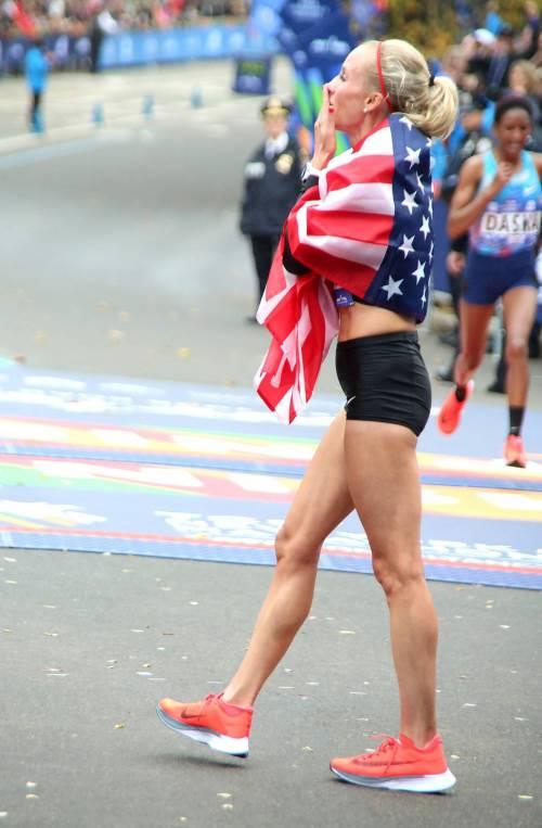 Dopo 40 anni un'americana prima alla maratona di New York