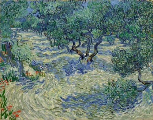 Van Gogh, cavalletta incastrata in questo quadro per 128 anni