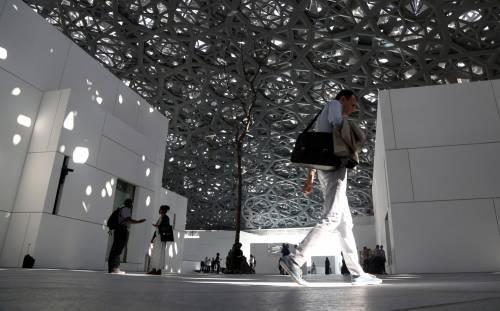 Louvre di Abu Dhabi, le immagini dell'interno 4