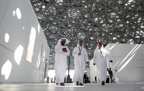 Louvre di Abu Dhabi, le immagini dell'interno 6