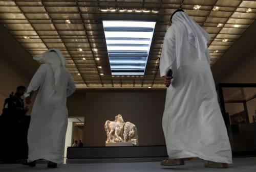 Louvre di Abu Dhabi, le immagini dell'interno 8