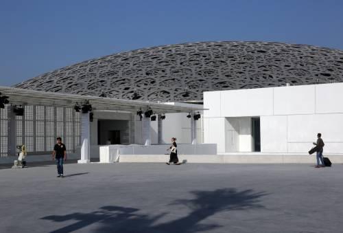 Louvre di Abu Dhabi, le immagini dell'interno 9