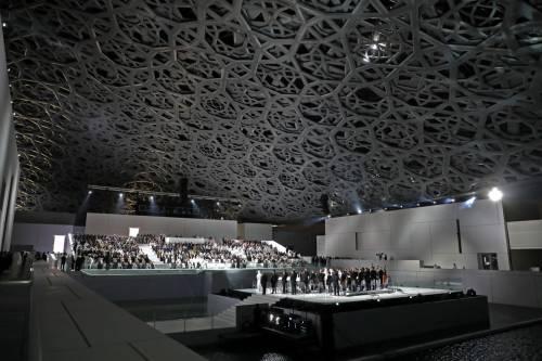 Louvre di Abu Dhabi, le immagini dell'interno 2