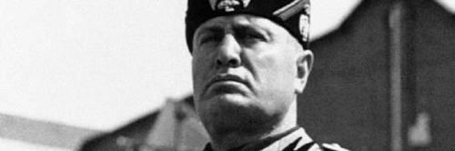 """""""Mussolini non fu né un folle criminale né un grand'uomo"""""""