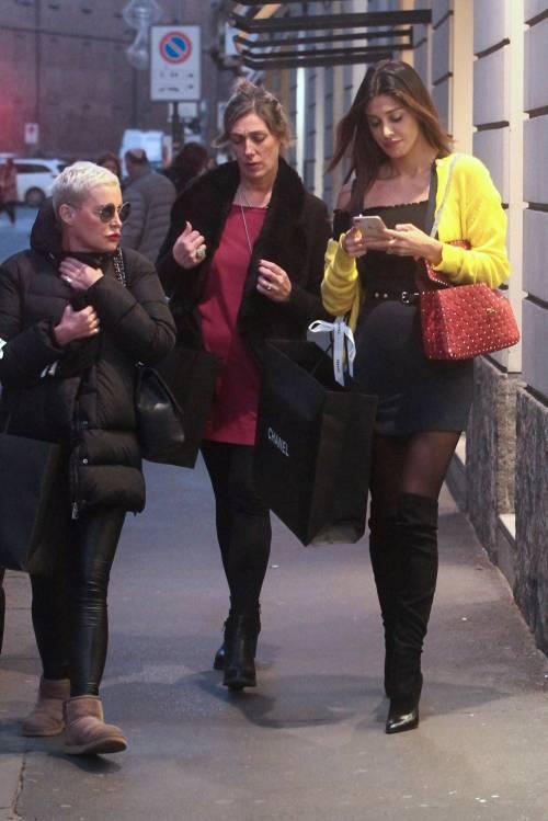 Belen fa shopping nel quadrilatero della moda 4