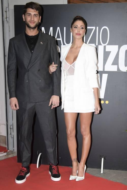 Belen Rodriguez sexy al Maurizio Costanzo Show 17