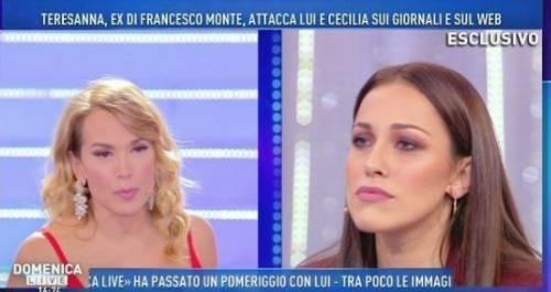 """Gf Vip, Teresanna: """"Cecilia? È un'ammaliatrice, non ha un'unghia della mia dignità"""""""