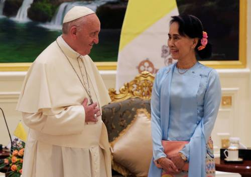 Il viaggio del Papa in Myanmar 2