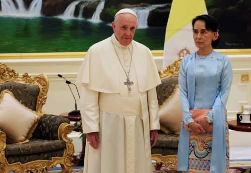 Il viaggio del Papa in Myanmar 5