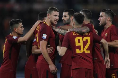 Serie A, la Roma piega la Spal