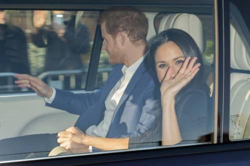 Principe Harry e Meghan Markle coppia felice 2