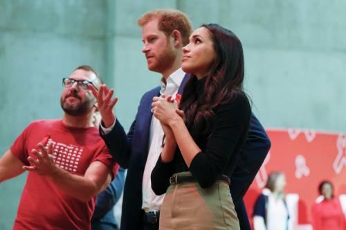 Principe Harry e Meghan Markle coppia felice 4