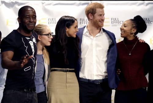 Principe Harry e Meghan Markle coppia felice 3