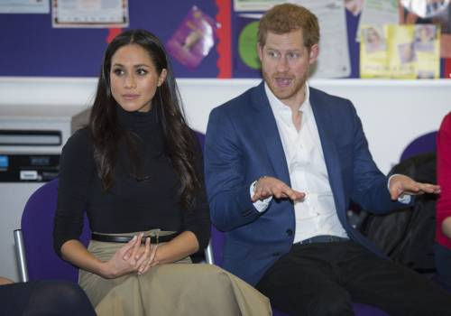 Principe Harry e Meghan Markle coppia felice 12