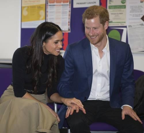 Principe Harry e Meghan Markle coppia felice 13