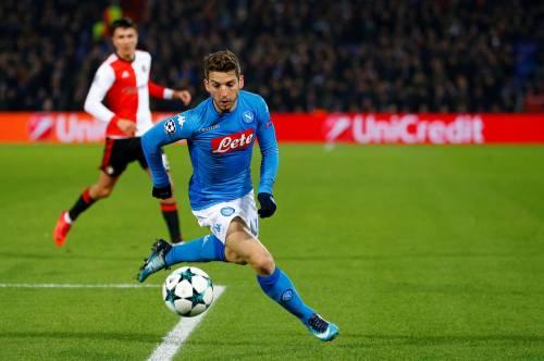 Il Napoli saluta la Champions: sconfitta 2-1 con il Feyenoord