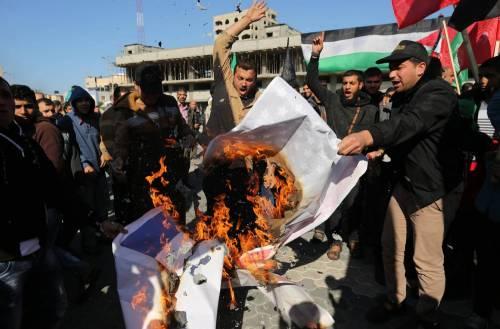 Proteste a Gaza nel Giorno della rabbia 3