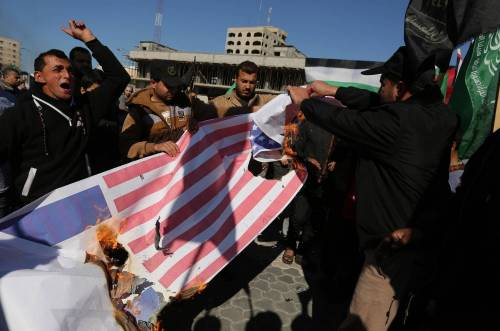 Proteste a Gaza nel Giorno della rabbia 7