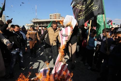 Proteste a Gaza nel Giorno della rabbia 9