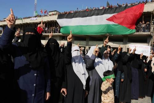 Proteste a Gaza nel Giorno della rabbia 2