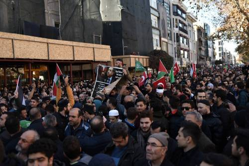 La protesta contro Trump per le strade di Istanbul 4