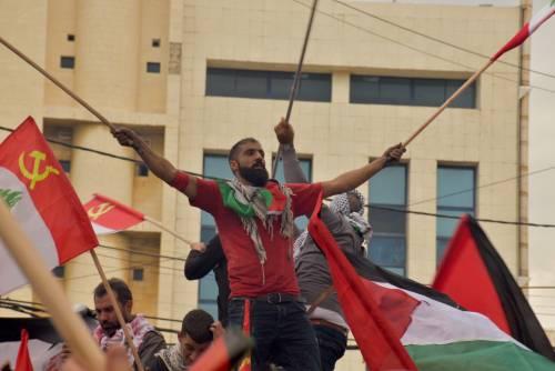 Scontri a Beirut su Gerusalemme capitale 12