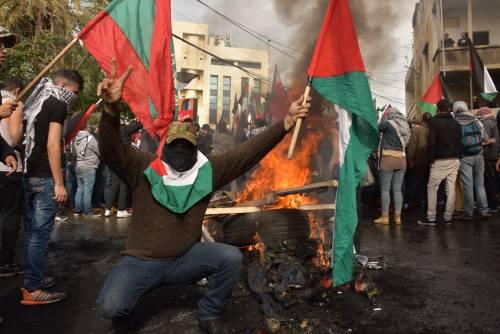 Scontri a Beirut su Gerusalemme capitale 14