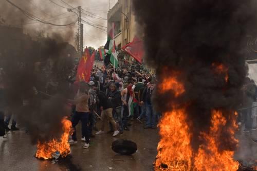 Scontri a Beirut su Gerusalemme capitale 8