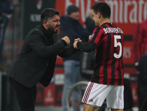 Il Milan si rialza con il Bologna: 2-1 e prima vittoria di Gattuso