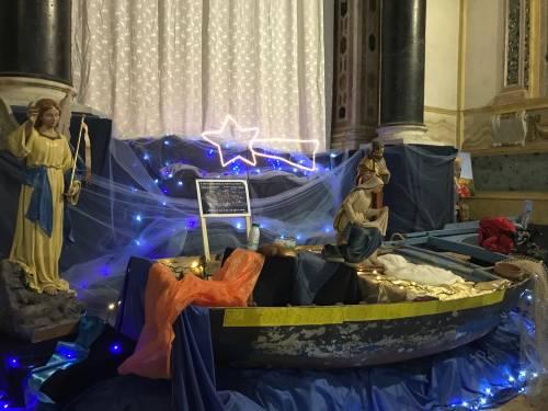 Palermo, a Natale il presepe sui migranti