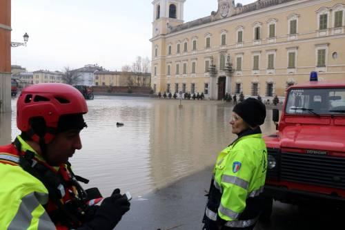 Il torrente Parma esce dagli argini 4