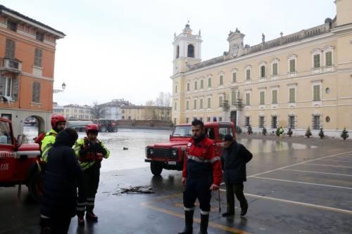 Il torrente Parma esce dagli argini 5