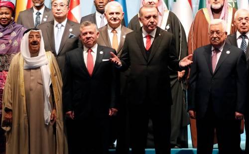 """Vertice Paesi islamici: """"Gerusalemme Est capitale della Palestina"""""""