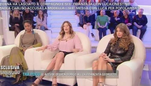 """Paola Caruso: """"Mi hanno minacciata di morte perché mi sono messa tra Luca e Ivana"""""""