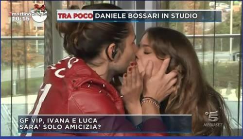Gf Vip, scatta il bacio tra Luca Onestini e Ivana Mrazova