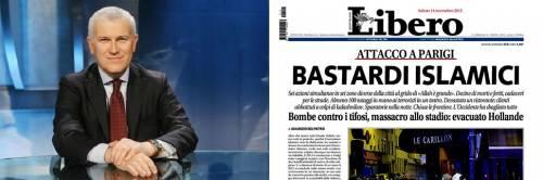 """""""Bastardi islamici"""", Belpietro assolto per il titolo"""