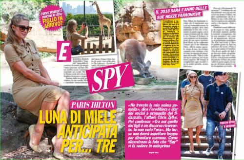 Paris Hilton in luna di miele anticipata. Poi spunta il pancino sospetto