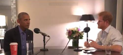 """Il principe Harry intervista Obama (e vuole invitarlo al suo matrimonio"""""""