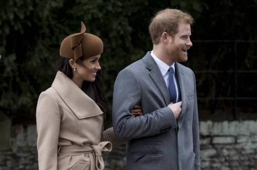 Meghan Markle e il principe Harry, coppia d'oro 10
