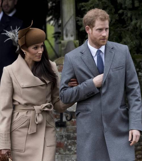 Meghan Markle e il principe Harry, coppia d'oro 15